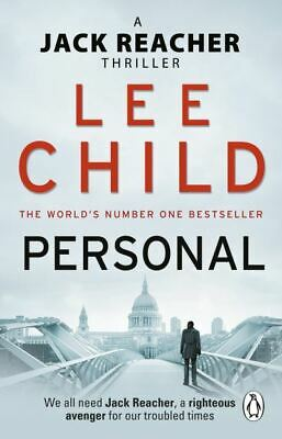 £3.22 • Buy A Jack Reacher Thriller: Personal By Lee Child (Paperback) Fast And FREE P & P