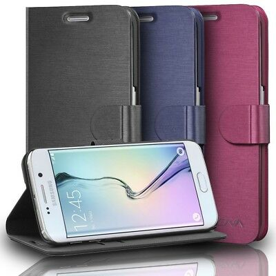 $ CDN10.65 • Buy Vena [vSuit] For Samsung Galaxy S6 Edge Plus PU Leather Wallet Card Slots Case
