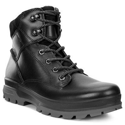 80ec6d9405 Ecco Rugged Track Schuhe Men Herren Outdoor Mid Boots Stiefel Black  838044-51052 • 143.90