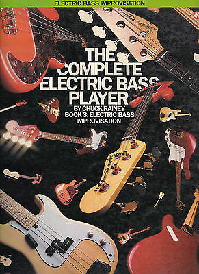 £13.60 • Buy Chuck Rainey    The Complete Electric Bass Player - Book 3