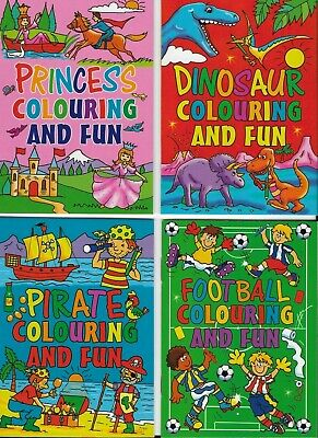 £4.99 • Buy 24 A6 Size Colouring  Books 6 Designs 4 Of Each Ideal-party Bags & Small Gifts