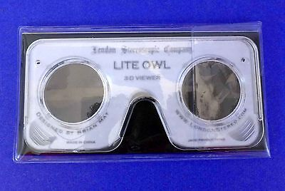 £10.85 • Buy Lite OWL Stereoscope 3D Print Viewer By Brian May - Must See!