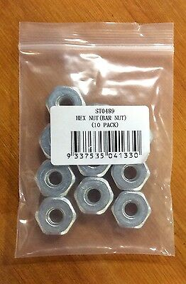 10 Chainsaw Guide Bar Nuts Repl. Stihl 0000-955-0801 024 026 029 044 046 MS360 • 5.61£