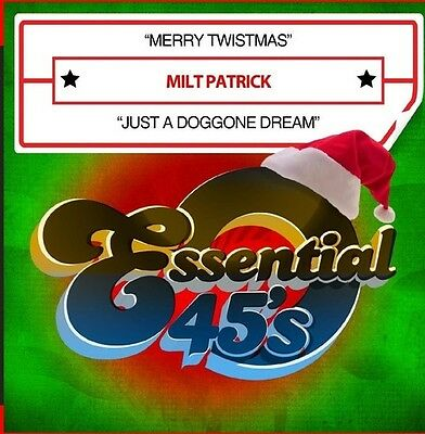 £11.79 • Buy Milt Patrick - Merry Twistmas / Just A Doggone Dream [New CD] Manufactured On De