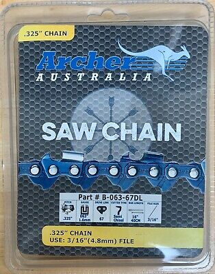 $14.95 • Buy 16  Chain .325 .063 67DL Repl. Stihl 024 026 028 029 MS260 MS270 MS290 MS291