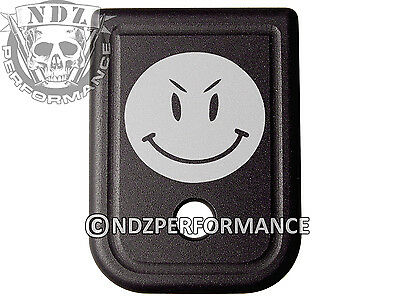 $19.99 • Buy For Glock Magazine Plate 17 19 22 23 26 27 34 35 9mm 40cal Smiley 3