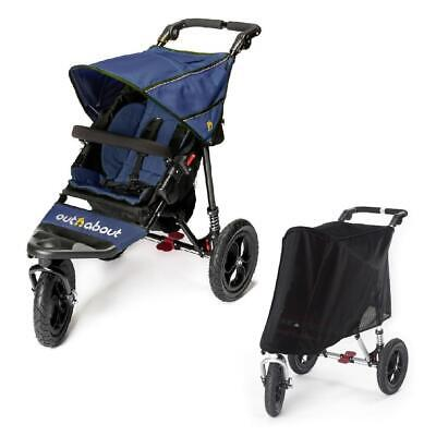 £299 • Buy Out N About Nipper 360 V4 (Royal Navy) All Terrain Baby Pushchair - RRP £399.00