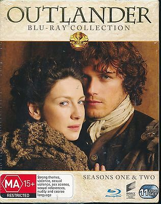 AU65 • Buy Outlander Collection Season One And Two 1 And 2 NEW Bluray Blu-ray
