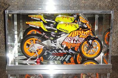 1:6th SCALE MINICHAMPS SUPER RACING BIKE - GLASS DISPLAY CASE ONLY OR ANY ITEM • 48£