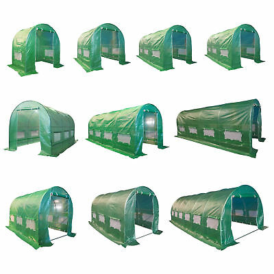 BIRCHTREE Fully Galvanised Frame Polytunnel Greenhouse Pollytunnel Poly Tunnel • 84.99£