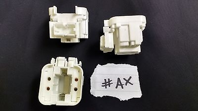 £9.95 • Buy 5 X G24q-1 CFL Compact Fluorescent Lamp Holder Snap Fit 20mm X 10mm Hole #AX