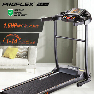 AU374 • Buy PROFLEX TRX2 Electric Treadmill Fitness Equipment Home Gym Exercise Machine