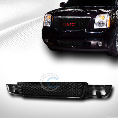 $63.95 • Buy Fits 07-14 GMC Yukon/XL/Denali Blk Round Hole Mesh Front Lower Bumper Grille ABS
