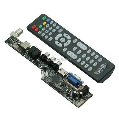 $9.72 • Buy V29 Universal LCD Controller Board TV Motherboard  Support 7-55 Inch LVDS Screen