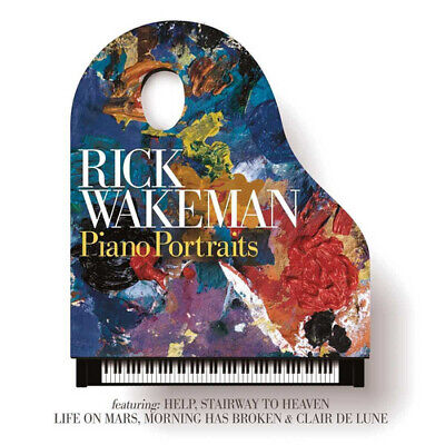 Rick Wakeman : Piano Portraits CD (2017) Highly Rated EBay Seller Great Prices • 2.73£