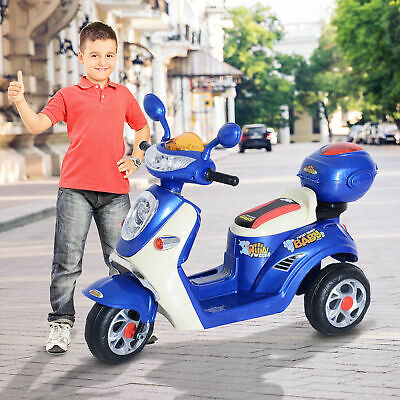 £68.99 • Buy HOMCOM Electric Ride On Toy Car Kids Motorbike Children Battery Tricycle 6V