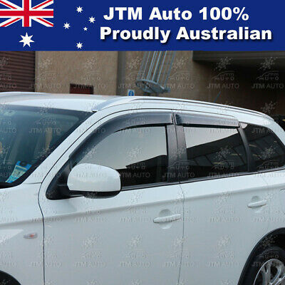 AU53.49 • Buy Premium Weather Shields Window Visors To Suit Mitsubishi Outlander 2013-2020