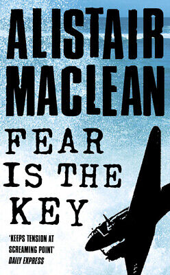 Fear Is The Key By Alistair MacLean (Paperback) Expertly Refurbished Product • 2.65£