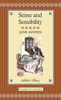 Collectors' Library: Sense And Sensibility By Jane Austen (Hardback) Great Value • 3.51£
