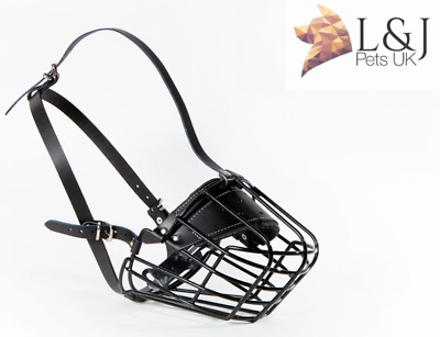 £26.59 • Buy New Strong Metal Wire Basket  Dog Muzzle St. Bernard ,and Other Big Dogs