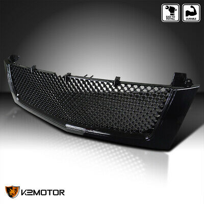 $94.38 • Buy Fits 2002-2006 Cadillac Escalade Polished Black ABS Mesh Front Hood Grill Grille