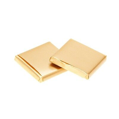 £13 • Buy 100 Milk Chocolates Ideal As Wedding Favours & DIY Favours - Gold