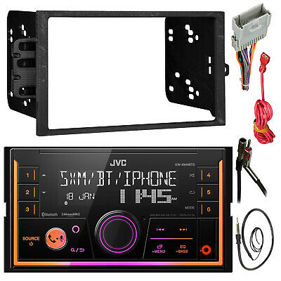 JVC Bluetooth 2-Din Car Receiver Package With Install Kit For GM Vehicles • 112.07£