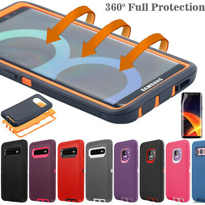 AU11.88 • Buy Samsung Galaxy S20+ Ultra Note 10 9 8 Case Shockproof Hybrid Rubber Rugged Cover