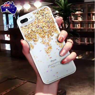 AU6.95 • Buy Shockproof Glitter Liquid Sparkle Bling Quicksand Case Cover For IPhone 8/7/6