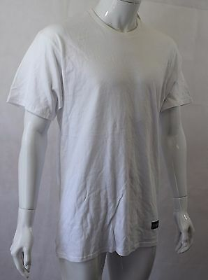 BNWT ELEVEN Paris White Hollywood City Number T-Shirt Size Large (R94) • 12£