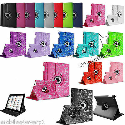 £3.49 • Buy Leather 360 Degree Rotating Smart Stand Case Cover For APPLE IPad Mini 2 3 4 Air