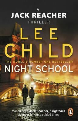 A Jack Reacher Thriller: Night School By Lee Child (Paperback) Amazing Value • 3.25£
