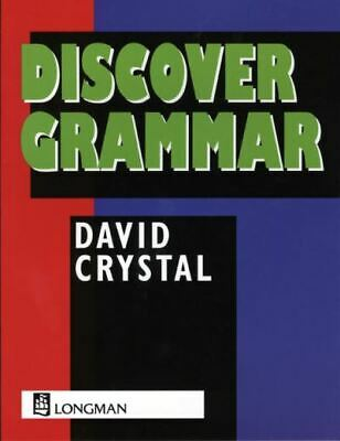 £3.21 • Buy Discover Grammar By David Crystal (Paperback) Expertly Refurbished Product