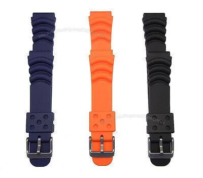 $ CDN14.66 • Buy 20mm Rubber Diver Watch Band Suits Seiko Monster SKX779 /781 SRP307 /309/311/313