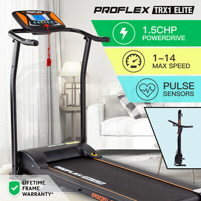 AU629 • Buy 【EXTRA10%OFF】PROFLEX Electric Treadmill Exercise Fitness Equipment Home Gym