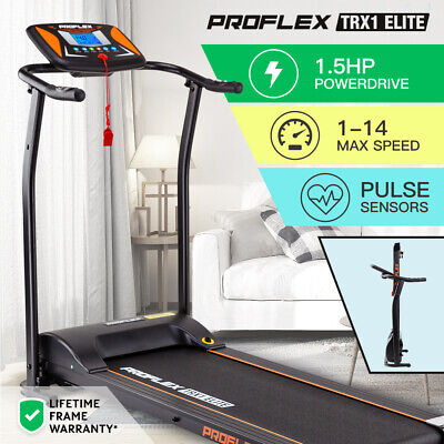 AU379 • Buy 【EXTRA20%OFF】PROFLEX Electric Treadmill Exercise Fitness Equipment Home Gym