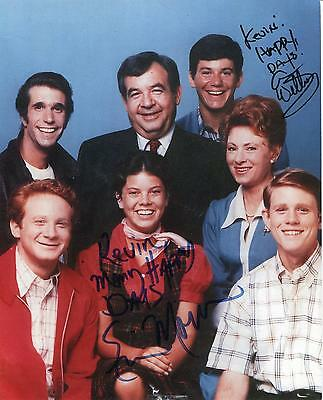$34.99 • Buy Erin Moran Child Actress In Happy Days & Anson Williams Signed Photo Autograph