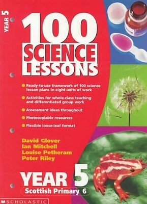 100 Science Lessons For Year 5,Peter D. Riley • 2.10£