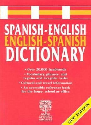 Spanish-English Dictionary,Geddes & Grosset • 2.85£