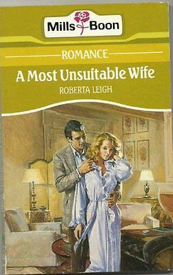 A Most Unsuitable Wife,Roberta Leigh- 9780263765618 • 1.92£