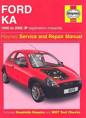 Ford Ka Service And Repair Manual (Haynes Service And Repair Manuals),A. K. Leg • 4.01£