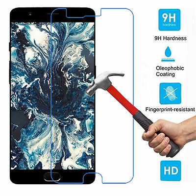 AU2.39 • Buy For ONEPLUS 5 Premium Full Cover Tempered Glass Film Screen Protector 9H