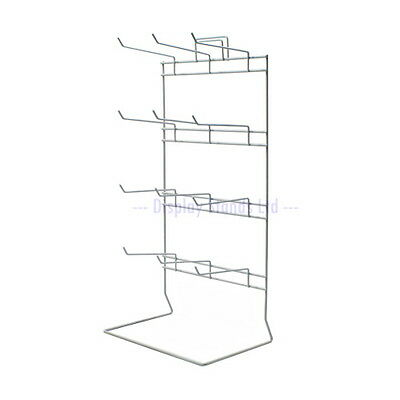 Counter Hook Stand 12 Fixed Hooks - Retail Display - Till Points & Stalls (J50) • 12.99£
