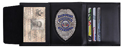 £23.90 • Buy Detective Leather ID And Badge Wallet Police Law Enforcement Rothco 1134