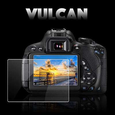 AU12.71 • Buy VULCAN Glass Screen Protector For Sony A6000 LCD. Tough Anti Scratch Cover