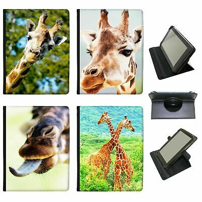 African Giraffe Universal Folio Leather Case For Huawei Tablets • 9.99£