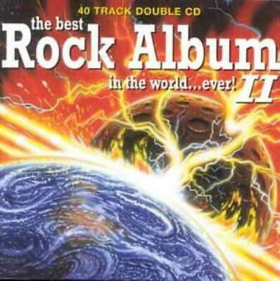 Various : The Best Rock Album In The World Ever, V CD FREE Shipping, Save £s • 2.11£