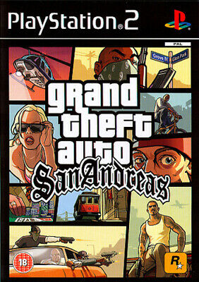 £4.49 • Buy Grand Theft Auto: San Andreas (PS2) Adventure: Free Roaming Fast And FREE P & P