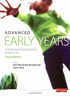£4.71 • Buy Advanced Early Years: For Foundation Degrees And Levels 4/5, 2nd Edition,Ms Vic