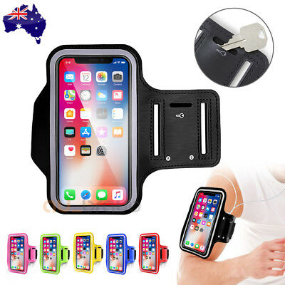 AU4.99 • Buy Sports Gym Armband Case Running Exercise For Apple IPhone 12 Mini Pro XS Max 11